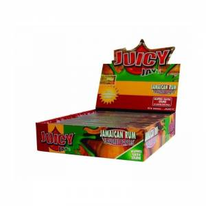 Bibułka Juicy Jay's slim KS Jamaican Rum BOX 24