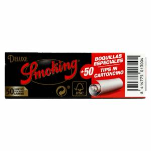Bibułka SMOKING DE LUXE medium No 8 + filtry