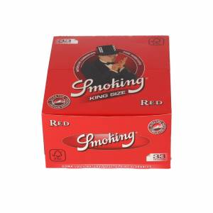 Bibułka SMOKING RED 98 KING SIZE BOX 50 szt