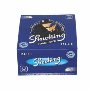 Bibułka SMOKING BLUE KS BOX 50 szt